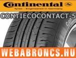 CONTINENTAL ContiEcoContact 5 215/65R16 - nyárigumi - adatlap