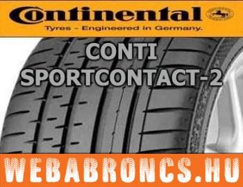 CONTINENTAL - ContiSportContact 2 - nyárigumi