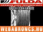 FULDA SPORTCONTROL 2 225/45R18 - nyárigumi - adatlap